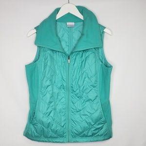 Columbia Sportswear Aqua Turquoise Fleece Vest